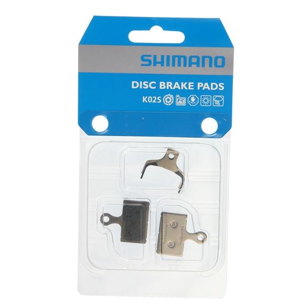 Shimano Skivebremseklodser K02S, flat mo