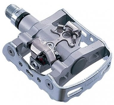 Shimano PD-M324 kombi pedal inkl. klampe