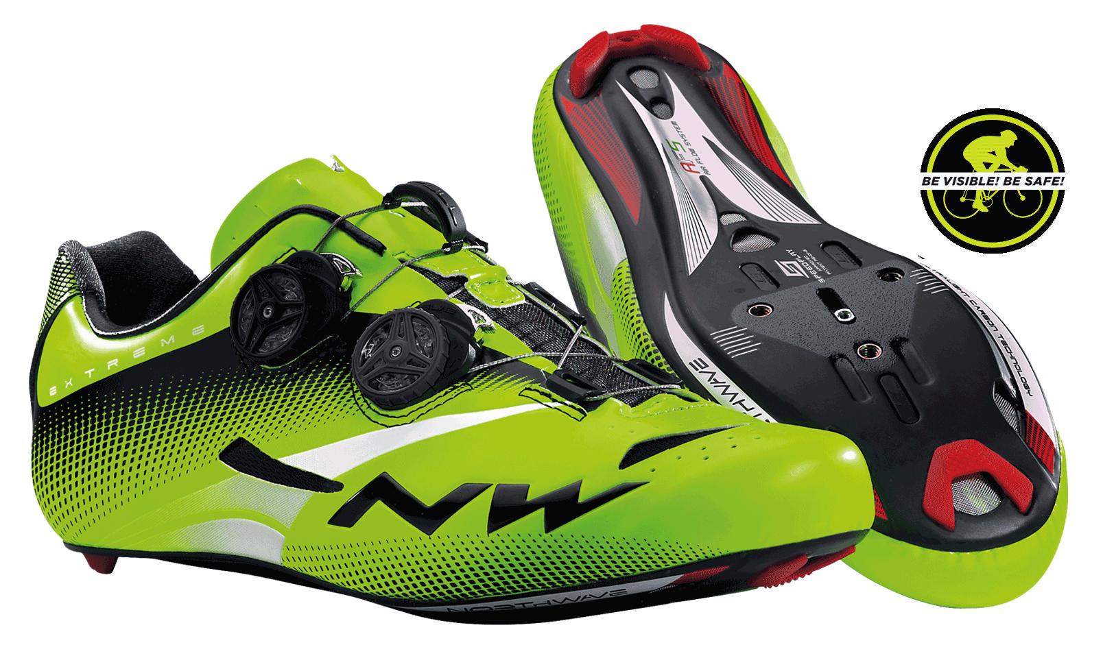 NorthWave Extreme Tech Plus Herre Racersko - Green Fluo