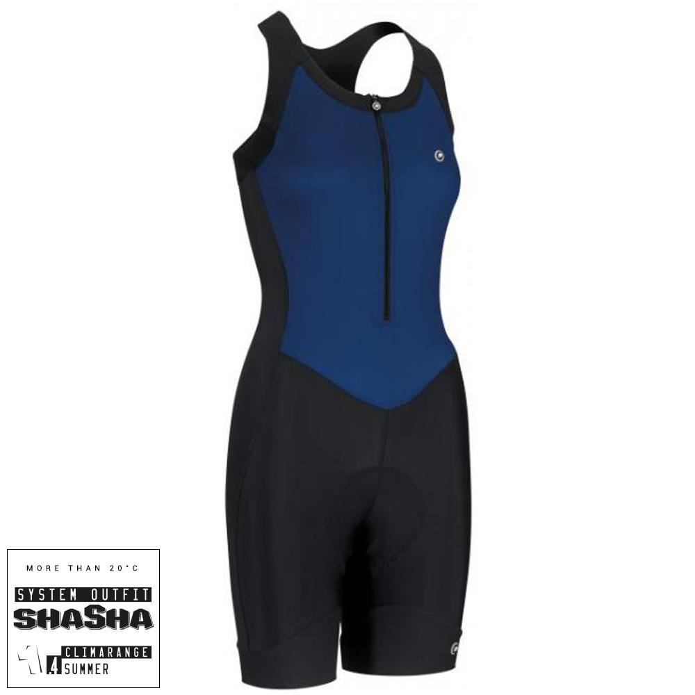 Assos UMA GT NS Body Suit - Blue