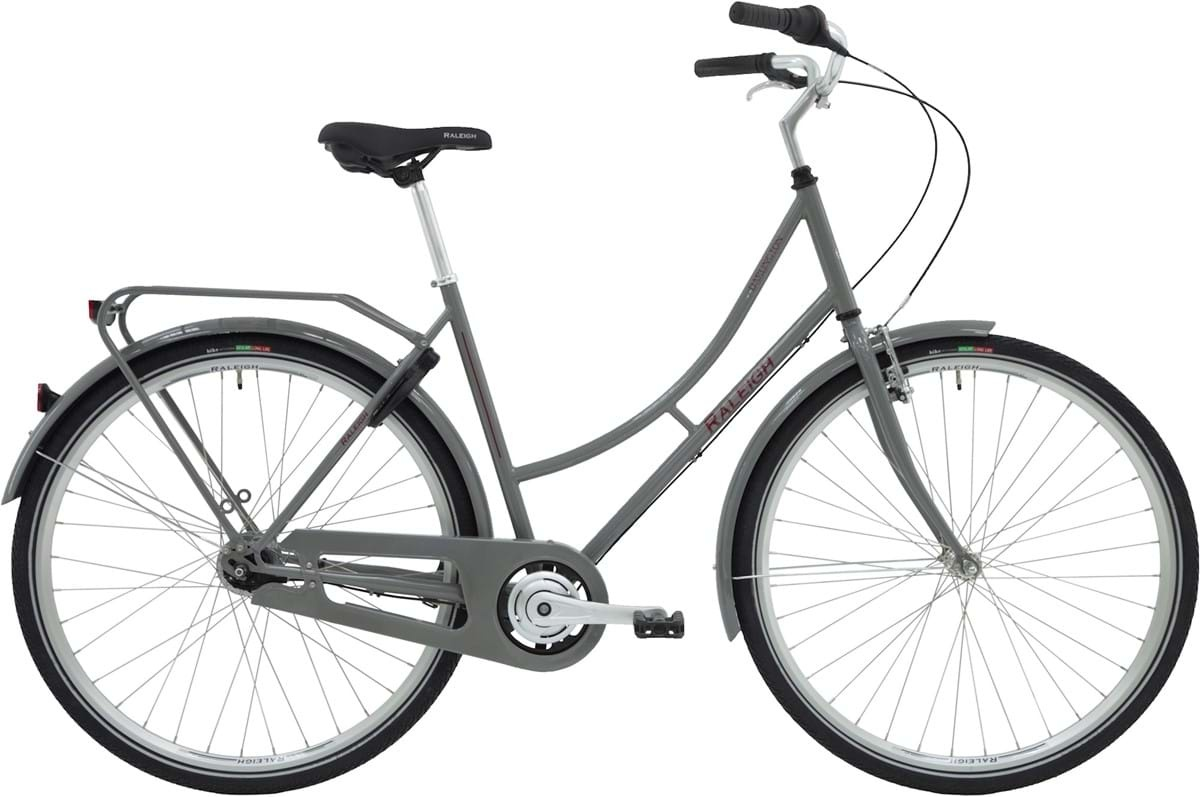 Raleigh Darlington Dame 7g 2019 - Grå