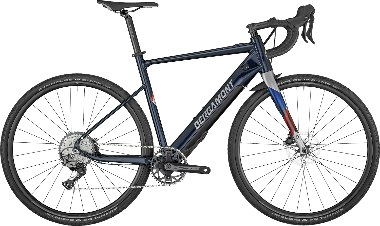 Bergamont E-Grandurance Elite 2022 - Blå
