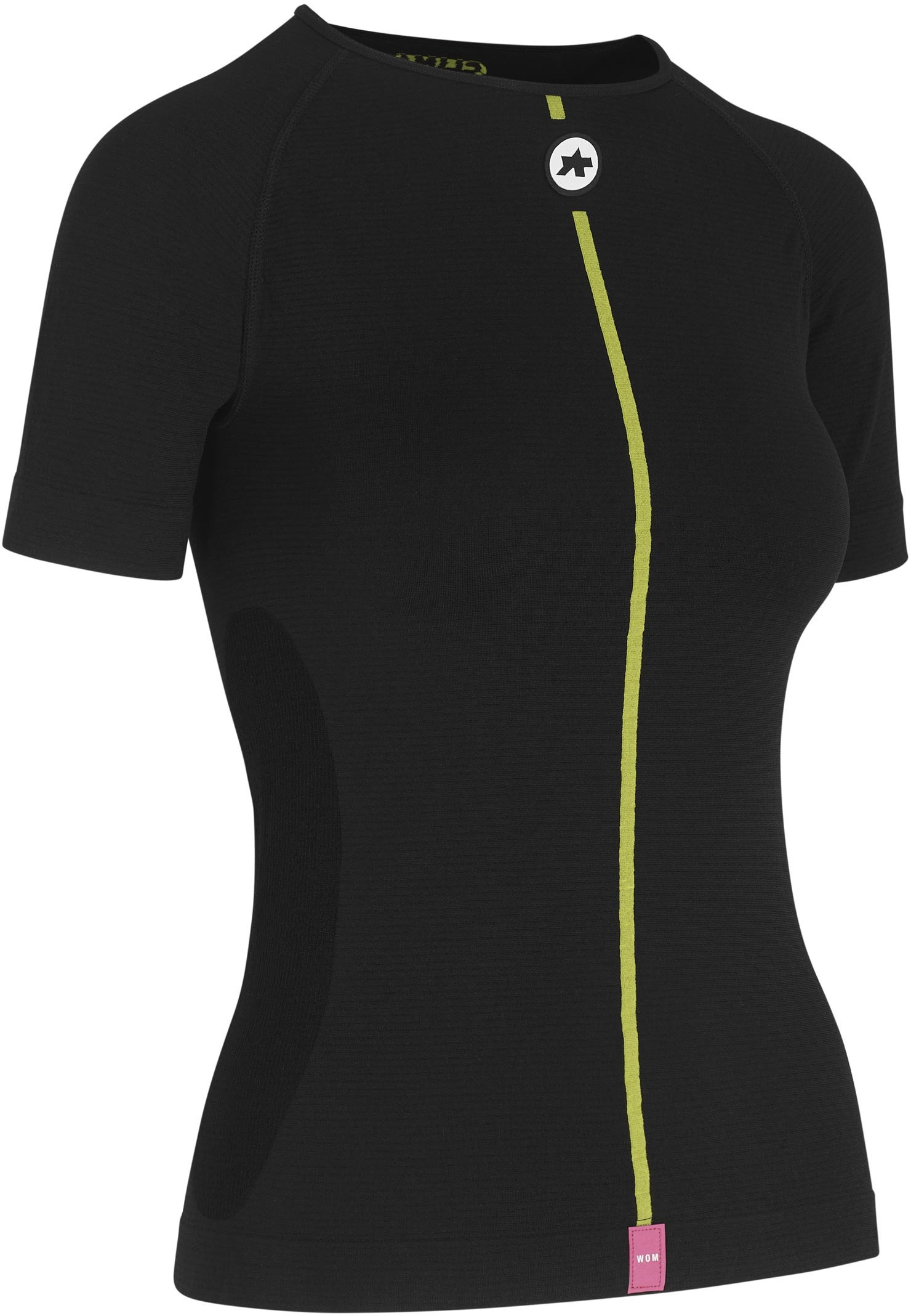 Assos ASSOSOIRES Women's Spring Fall SS - Kortærmet - Skin Layer - Sort