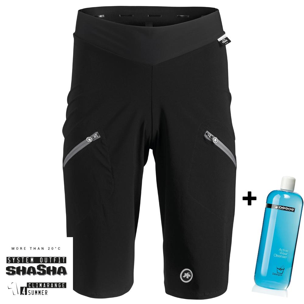 Assos MTB Trail Cargo Shorts (Herre) + 1L Active Wear