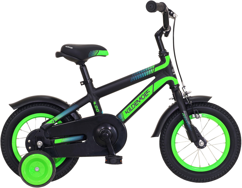 "Kildemoes Bikerz Dreng 12"" 2020 - Sort/grøn"