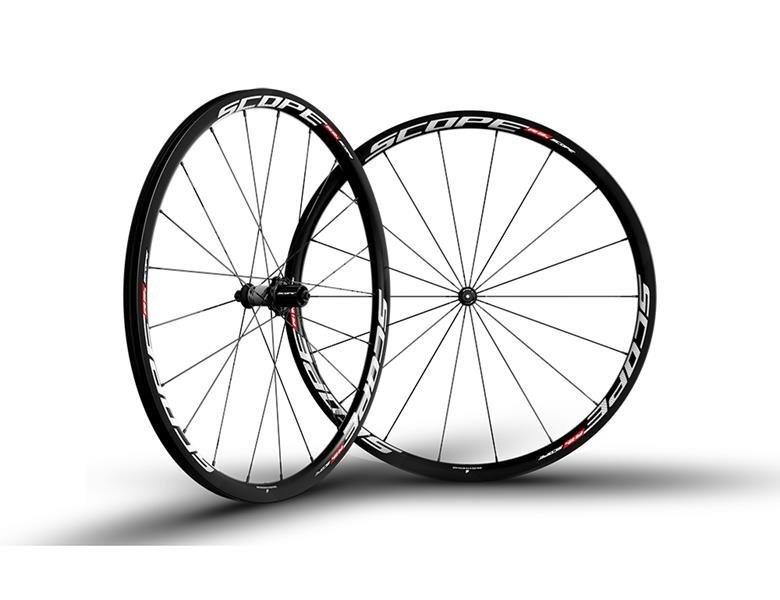 Scope R3C Carbon Hjulsæt - Hvid