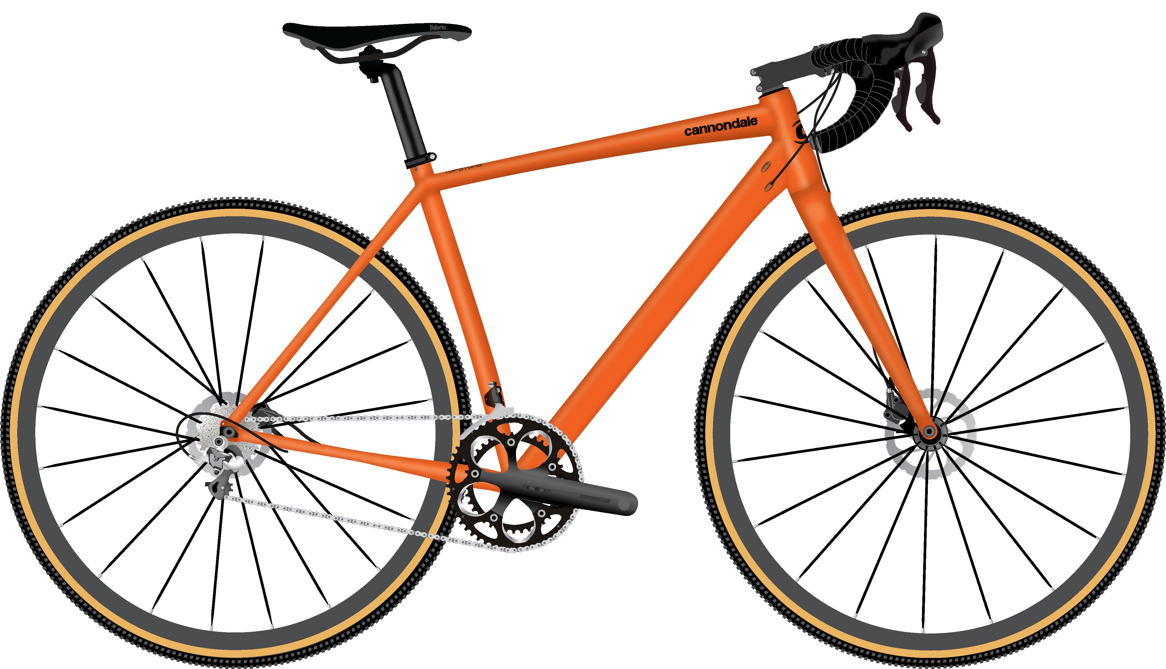 Cannondale Topstone 1 2021 - Orange