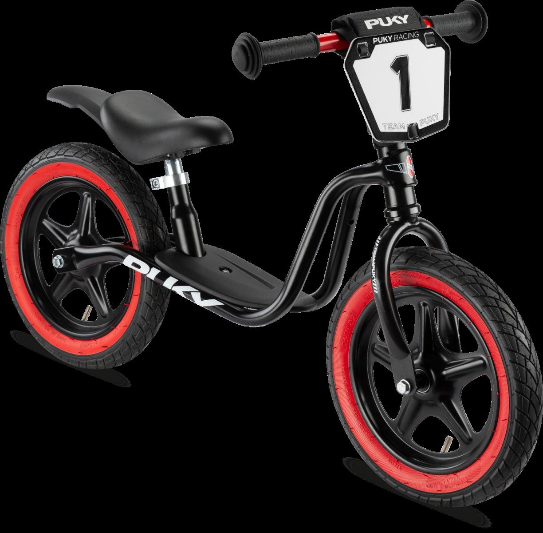 Køb PUKY LR 1L SUPERMOTO Løbecykel – Sort