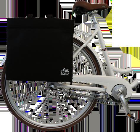 Bikezac taske filt - Sort