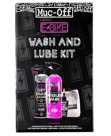Køb Muc-Off E-Bike Wash and Lube Kit (Vask & Olie)
