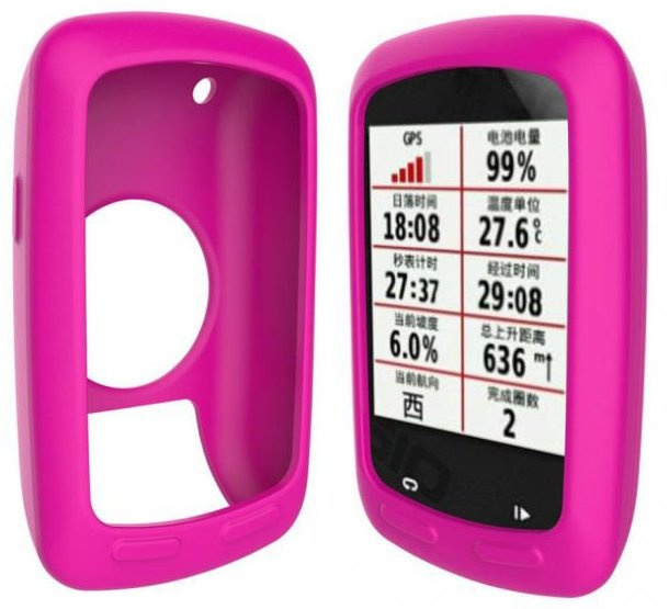 Garmin Edge 800/810 cover i silikone - Pink