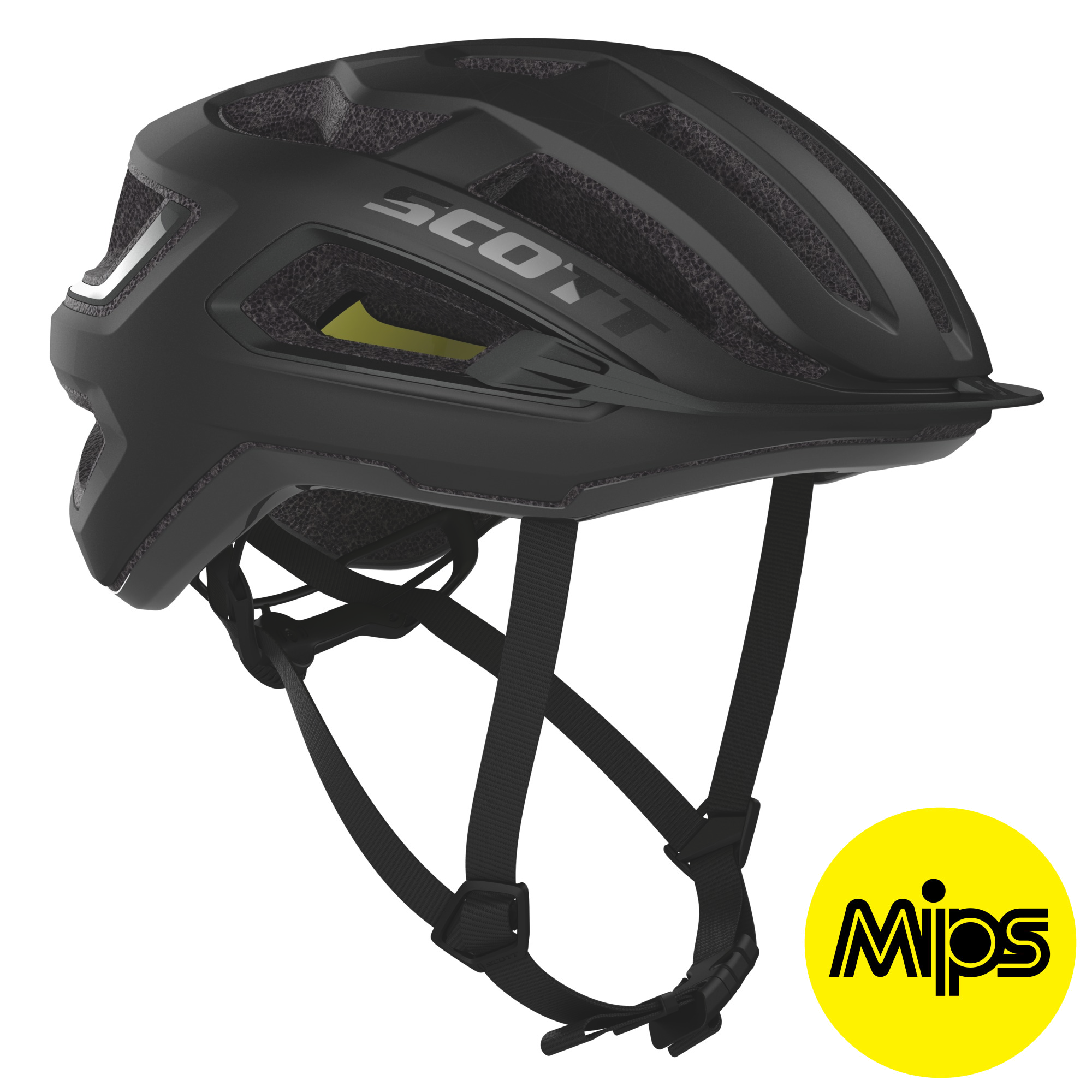 Scott ARX Plus (MIPS) Hjelm '20 - Black