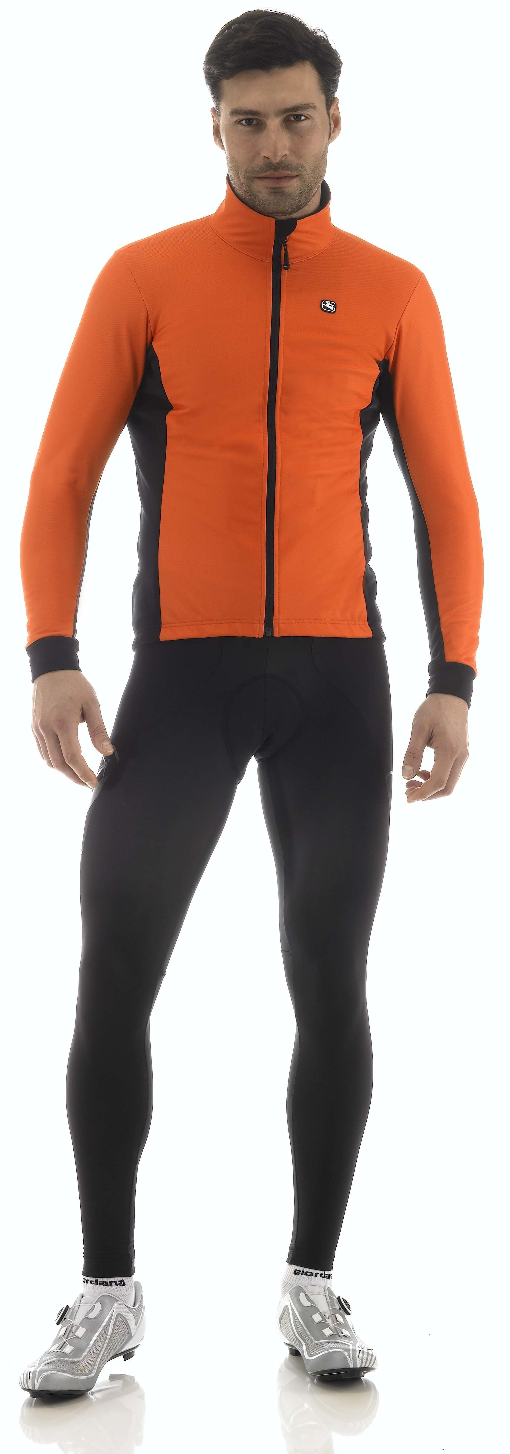 Giordana Vinter Jakke Fusion - Orange