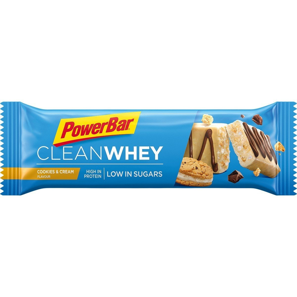 PowerBar Clean Whey Proteinbar Cookies and Cream - 45g