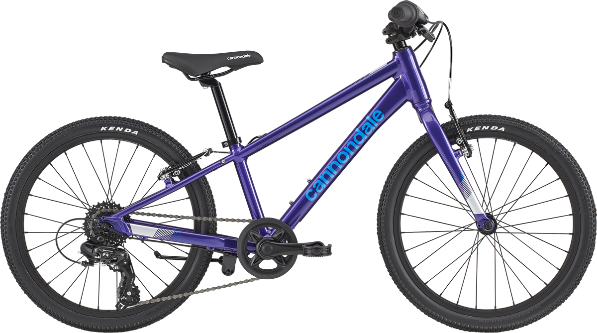 "Cannondale Kids Quick 20"" 2020 - Lilla"