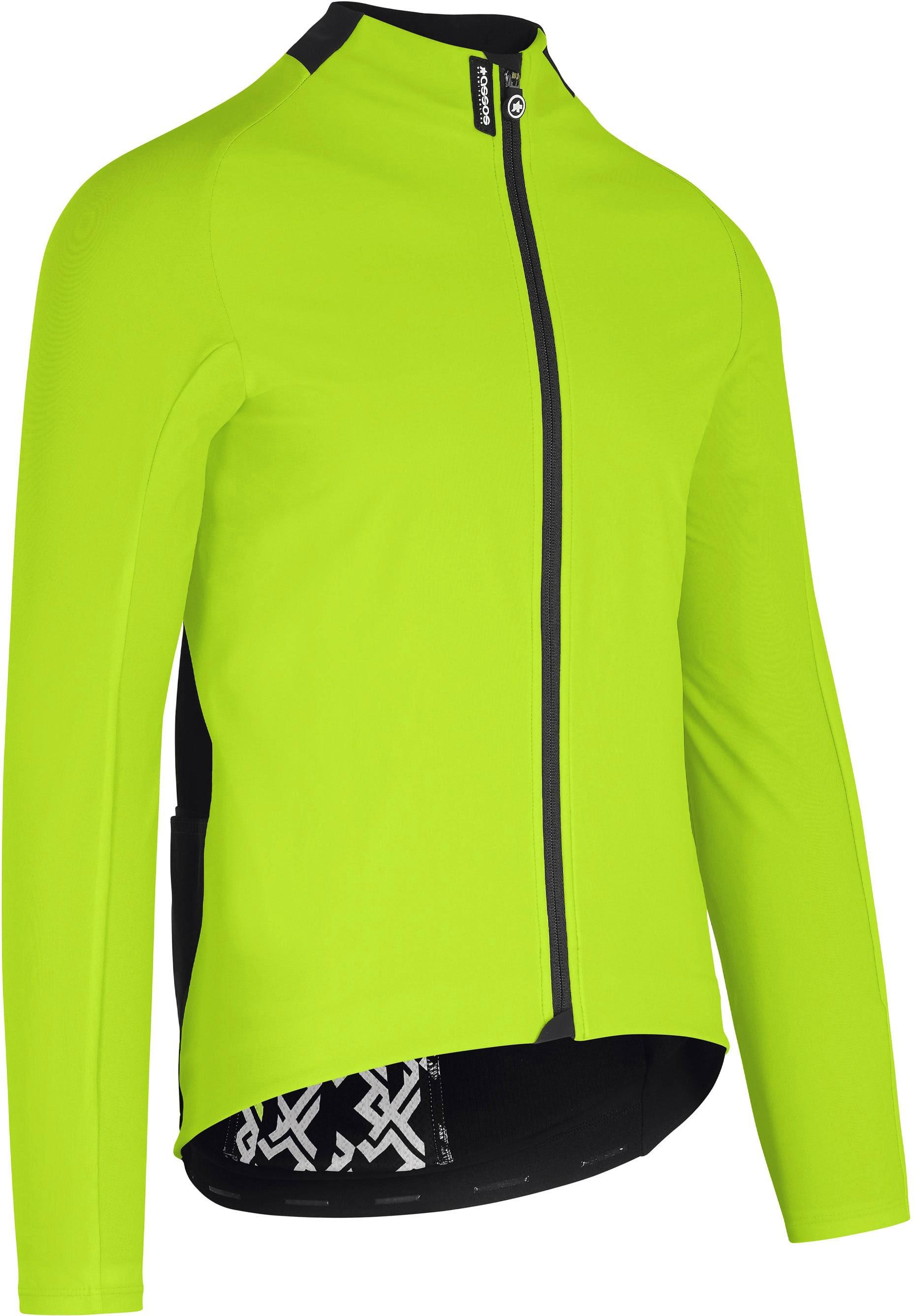 Assos MILLE GT ULTRAZ Winter Jacket EVO - Grøn/Refleks