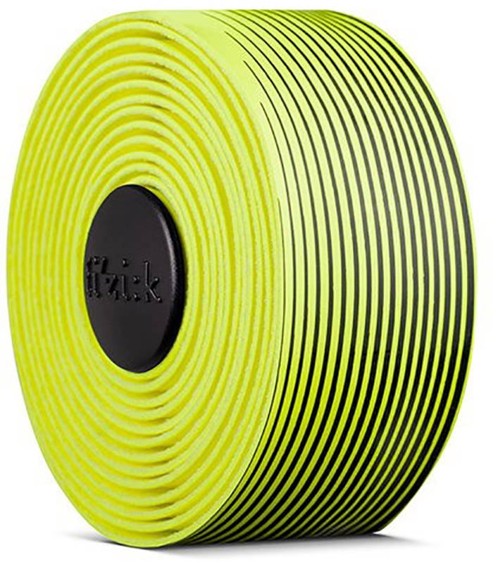 FIZIK Bar tape Vento Microtex Tacky Multi-Color, 2 mm - Sort/Gul
