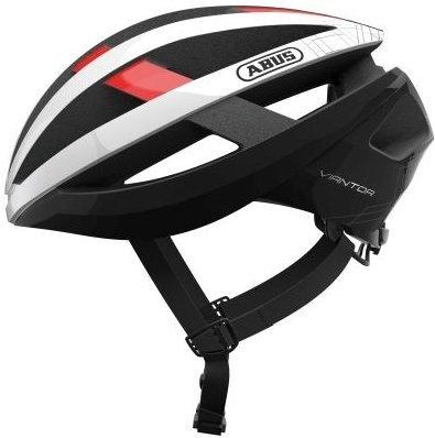 Abus Viantor - Hvid/Rød  »  Helmet Size: S (51cm-55cm)