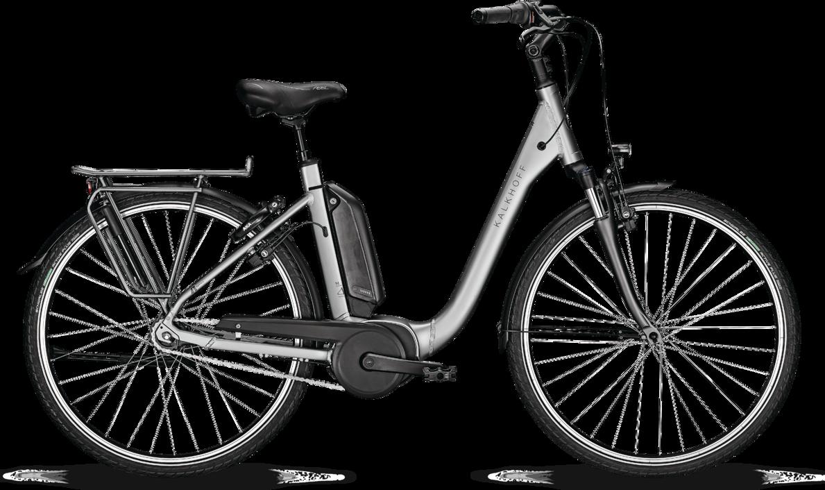 Kalkhoff Agattu 3.B Move Dame 2020 - Grå Cykler > Elcykler