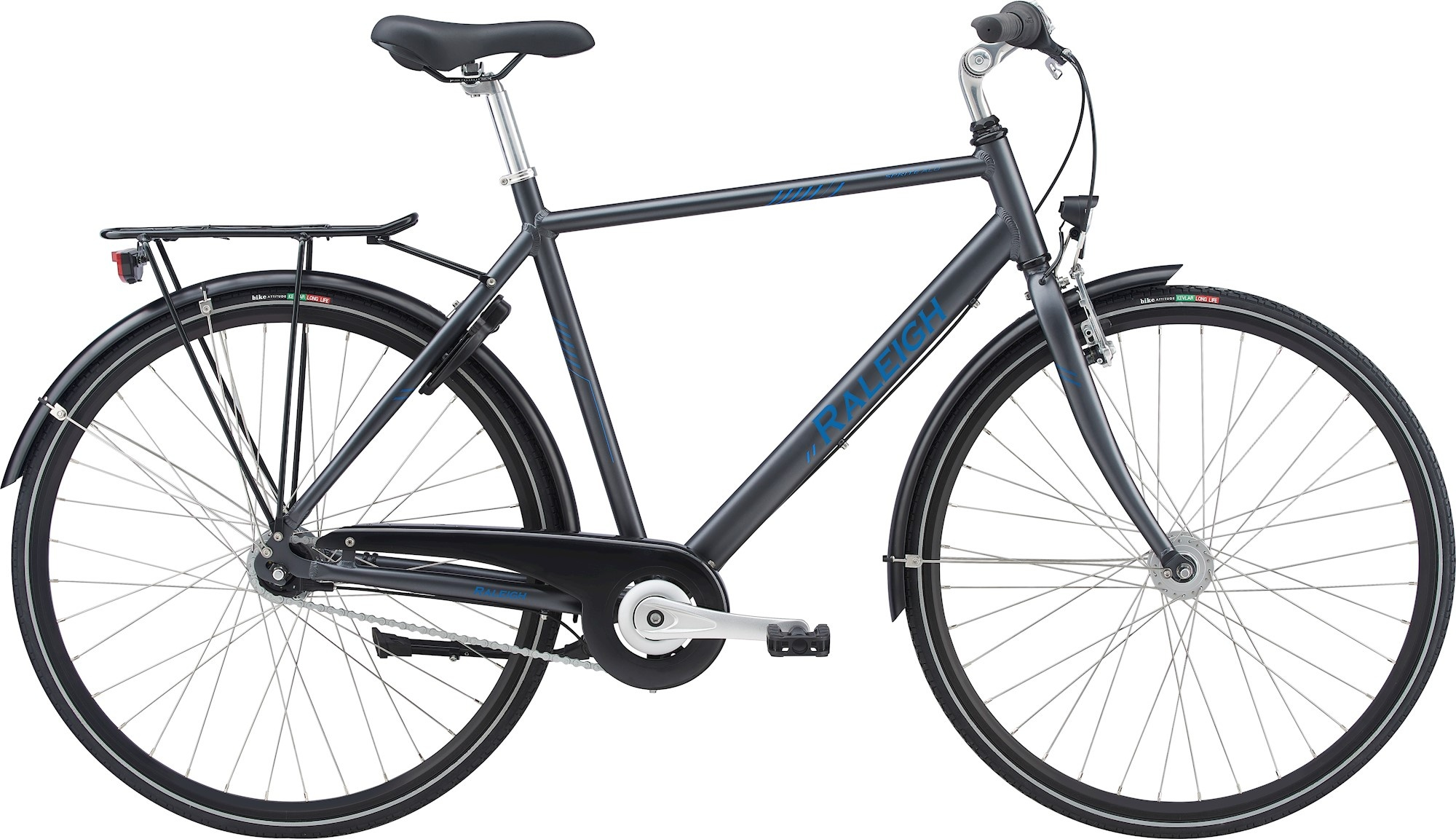 Raleigh Raleigh Sprite Alu Herre 7G 2021 - Grå Cykler > Herrecykler