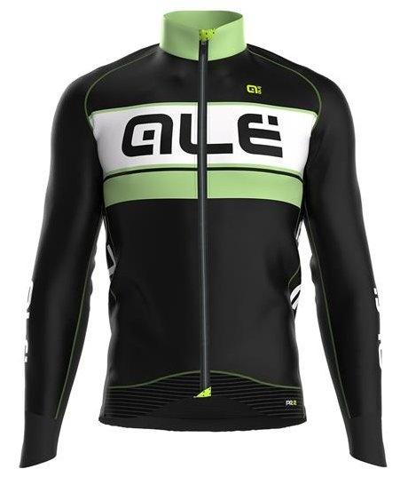 Alé Langærmet Jersey PPR Graphics, Sort/Grøn