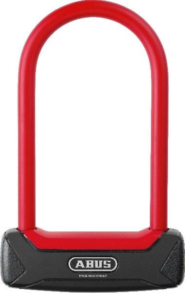 Abus Bøjlelås 640 Granit Plus 150 mm, Rød