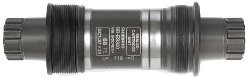 Køb Shimano Krankboks / Bottom Bracket BB-ES300 – BSA 68mm aksel 118mm, Octalink