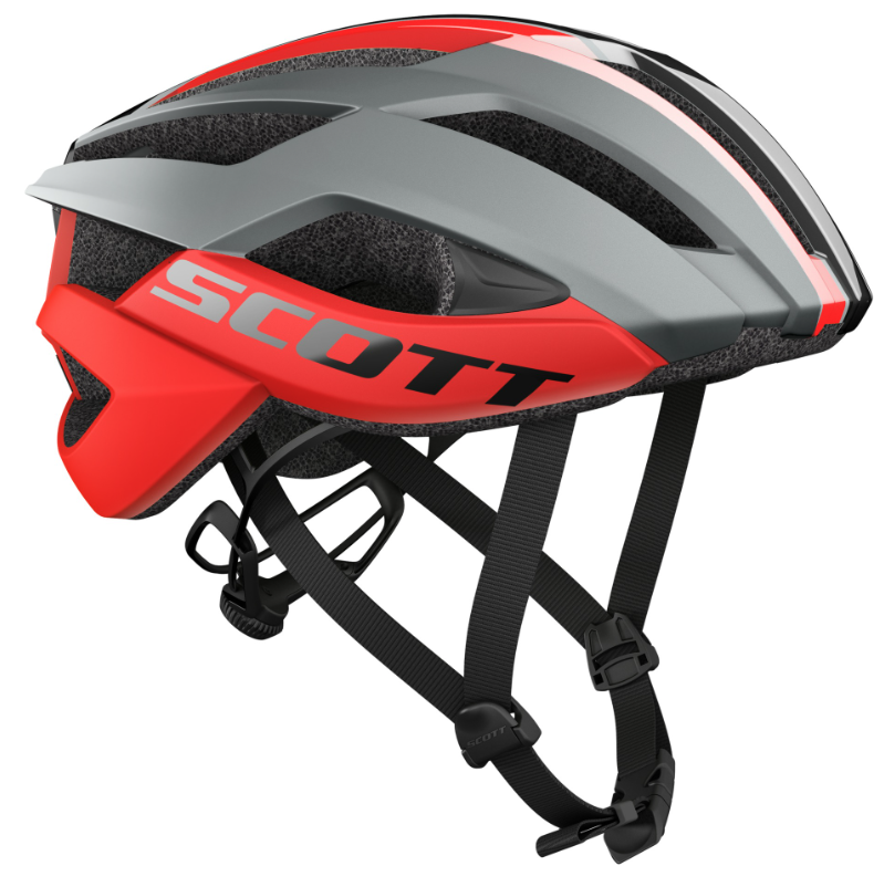 Scott ARX Plus (MIPS) Road Hjelm, Grey/Red