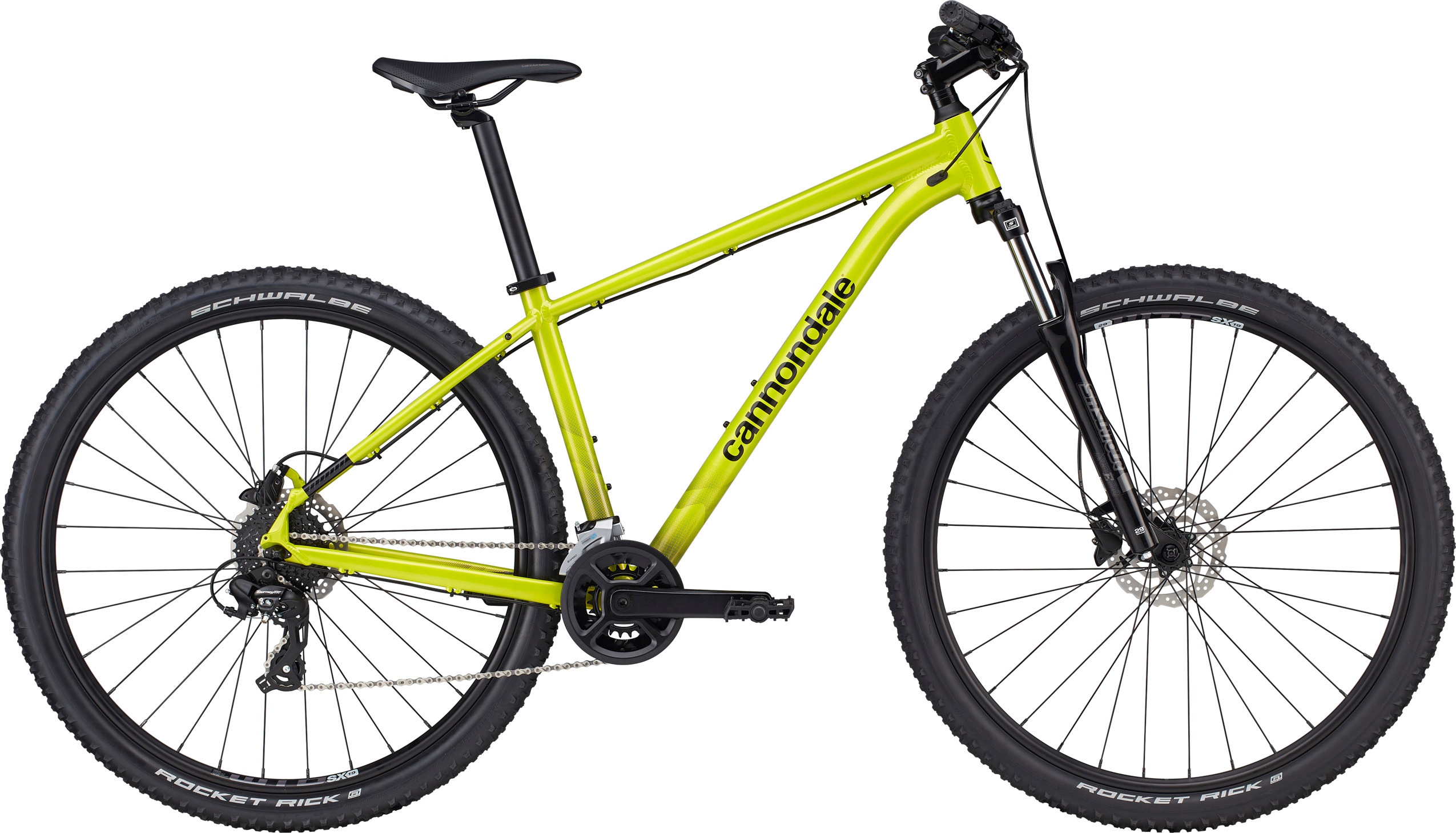 Cannondale Trail 8 2021 - gul