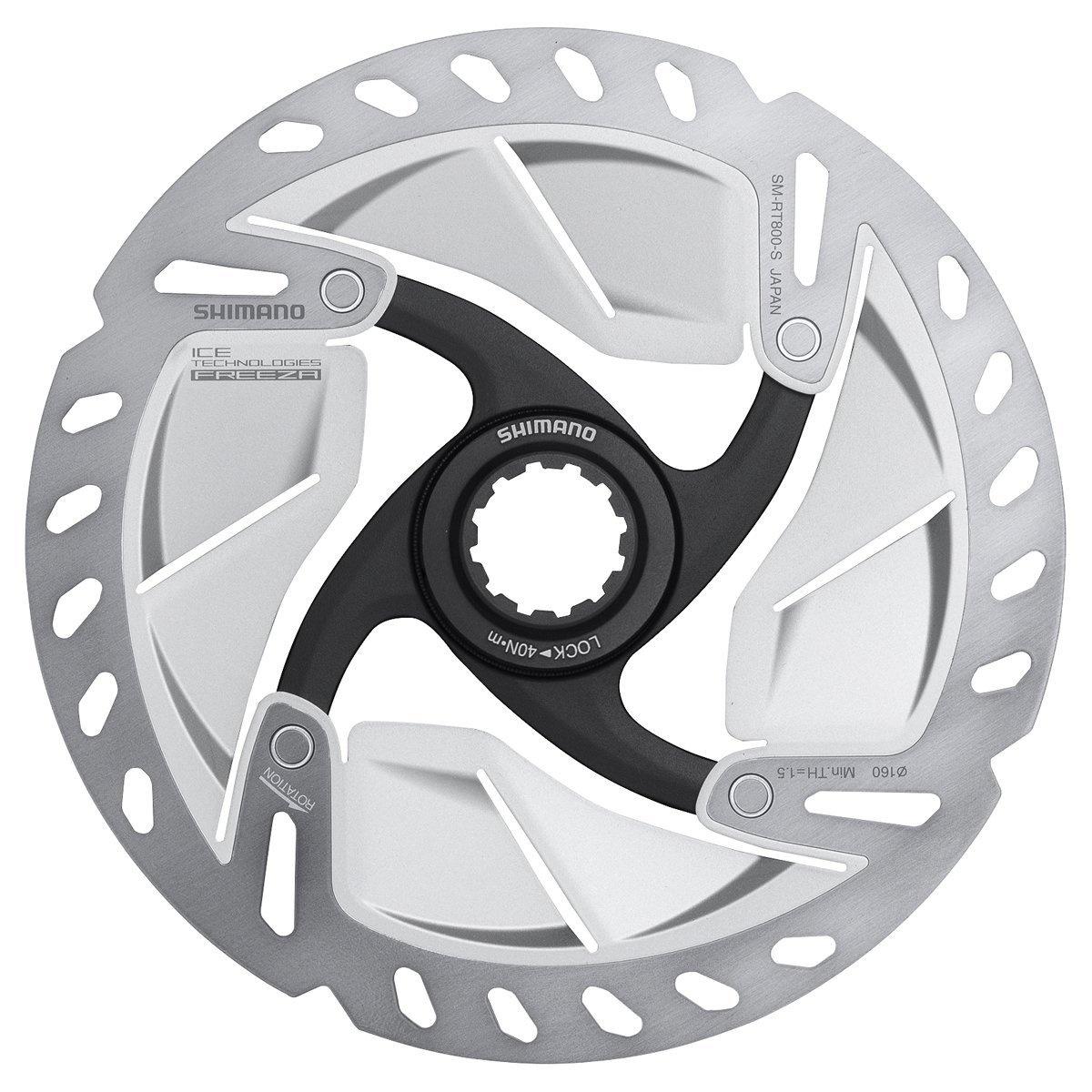 Shimano Bremseskive 160mm Center Lock SM-RT800 Ice-Tech Freeza