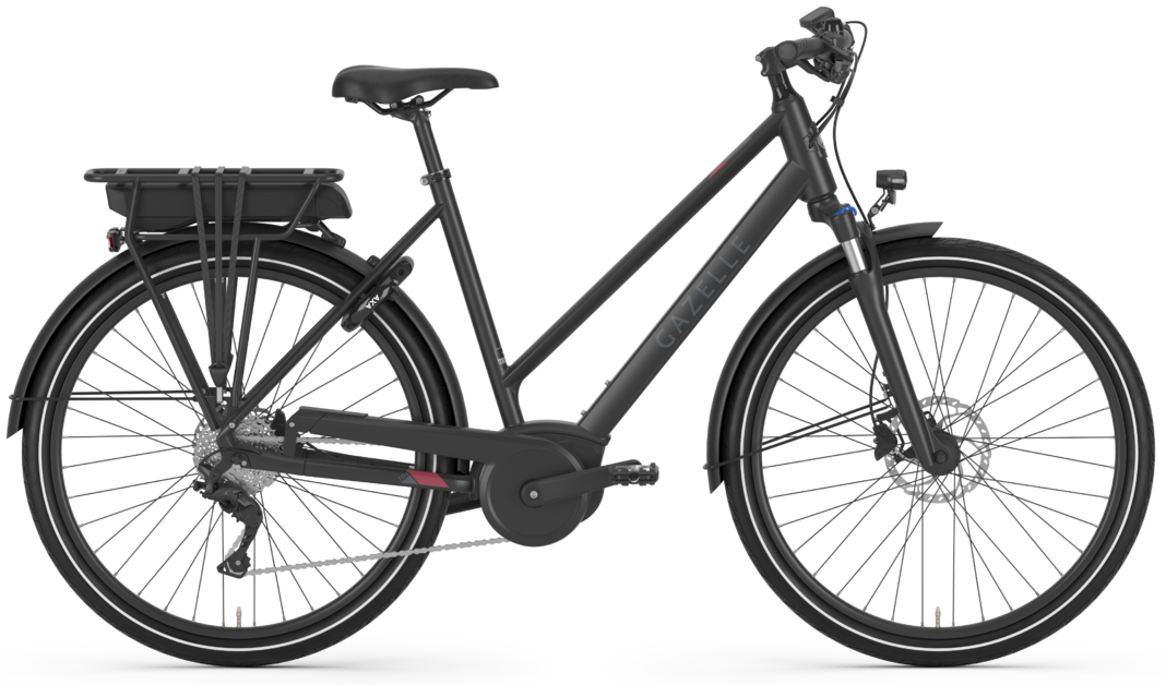 Gazelle Medeo T9 HMB Dame Sort - 2020