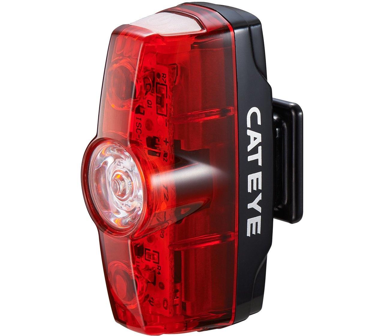 Cateye Rapid Mini TL-LD635-R USB Opladelig 15 Lumen Baglygte