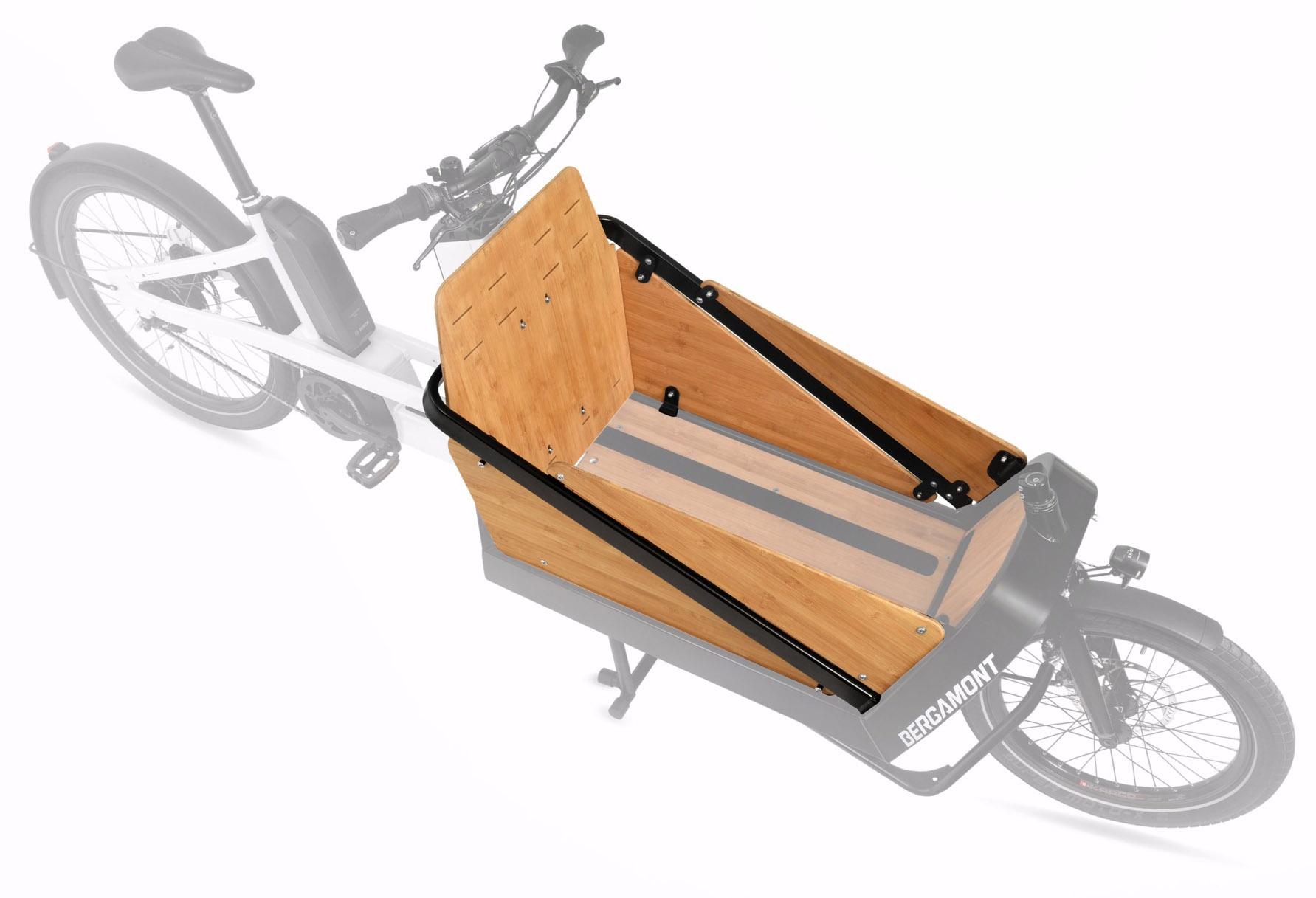 z Bergamont Cargoville - Bambus Bagage Boks 75l