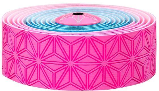 Supacaz Styrbånd Sticky KUSH Multi-Colored - Lyserød & Blå