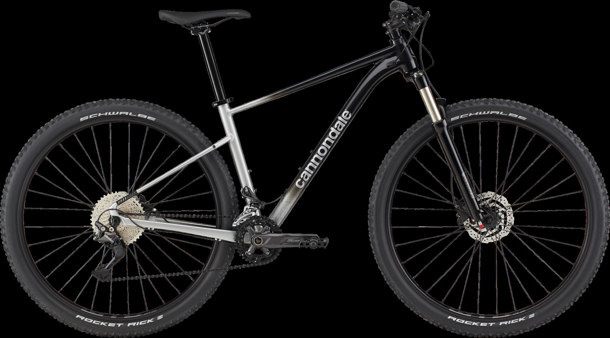 Cannondale Trail SL 4 2021 - Sort/Sølv