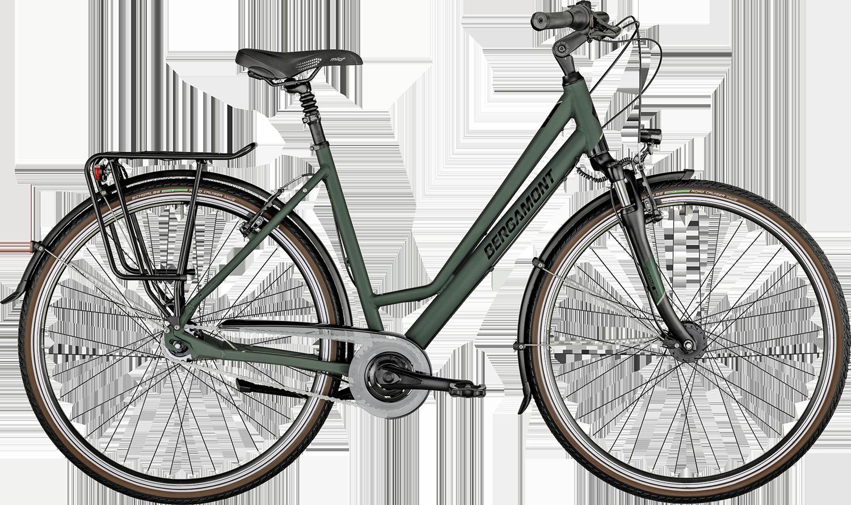 Bergamont Horizon N7 CB Amsterdam 2021 - Grøn