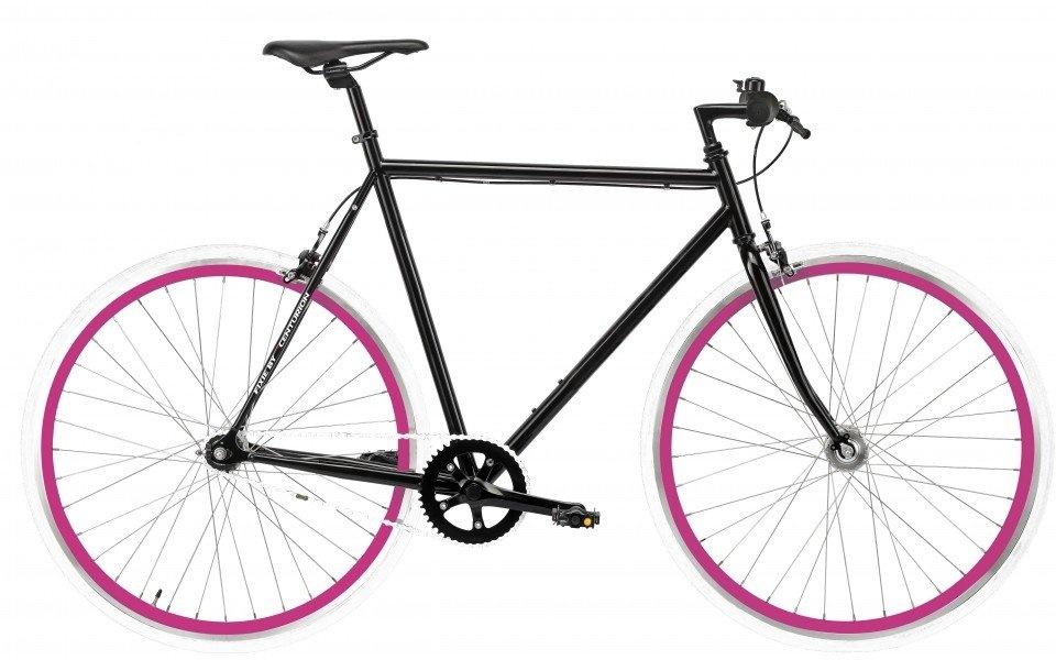 Centurion Fixie 1G (Pink/Hvid Hjul) - Kampagne Cykler > Herrecykler