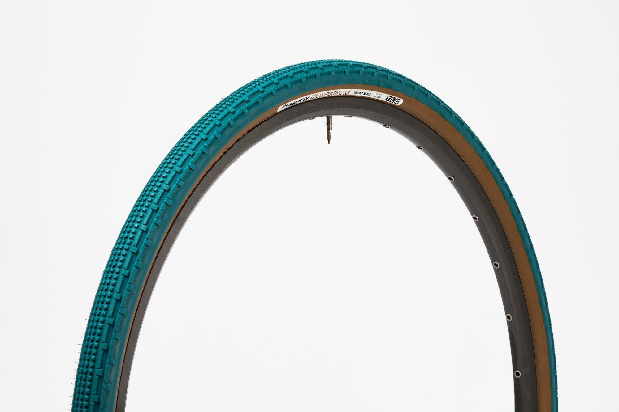 Panaracer 700 x 38 Gravel King SK Nile Blue dæk