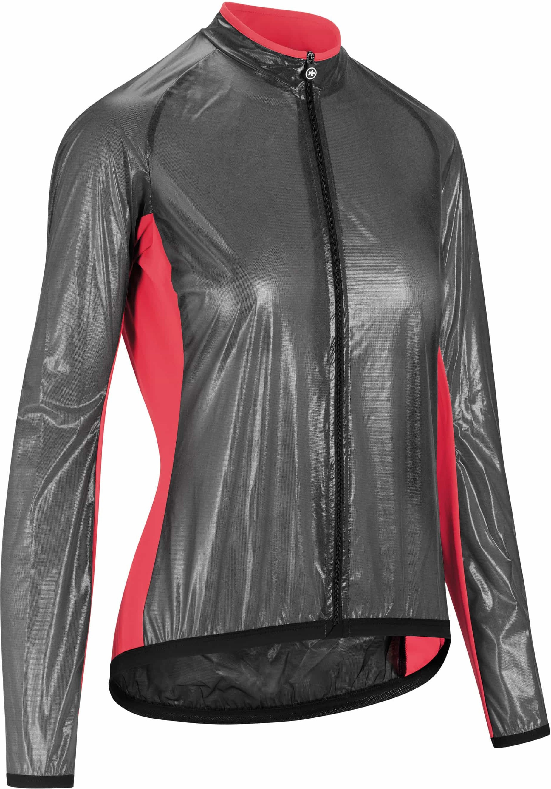 Assos Uma Gt Clima Jacket - Sort/Pink Beklædning > Cykeltøj Til Kvinder