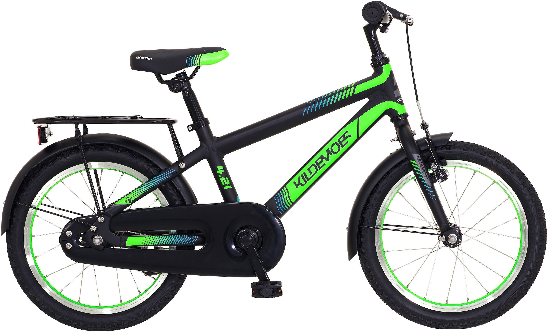 "Kildemoes Bikerz 16"" Dreng 2020 - Sort/Grøn"