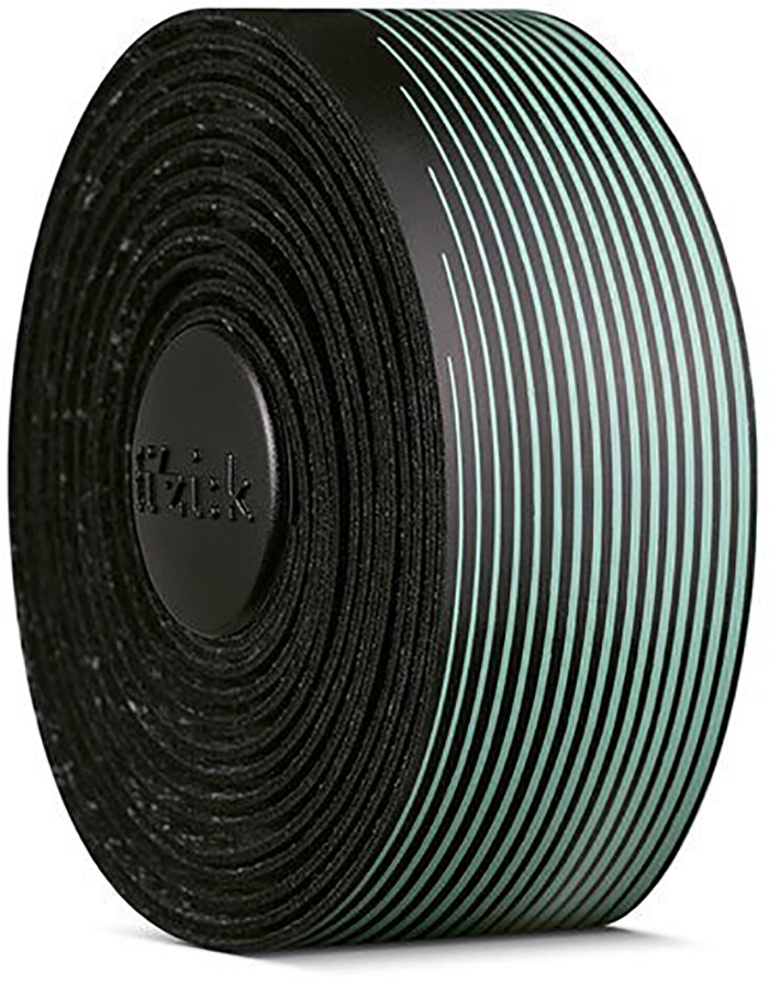 FIZIK Bar tape Vento Microtex Tacky Multi-Color, 2 mm - Sort/Turkis