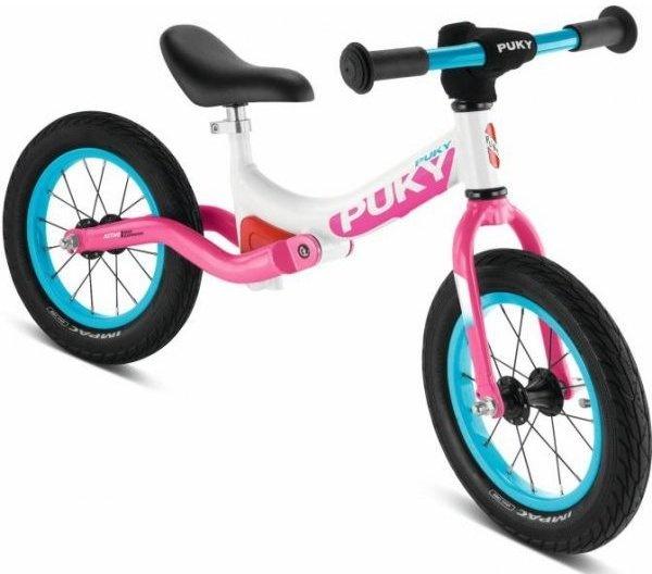 PUKY LR Ride Løbecykel, Hvid/Pink