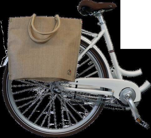 Bikezac taske filt - Hør