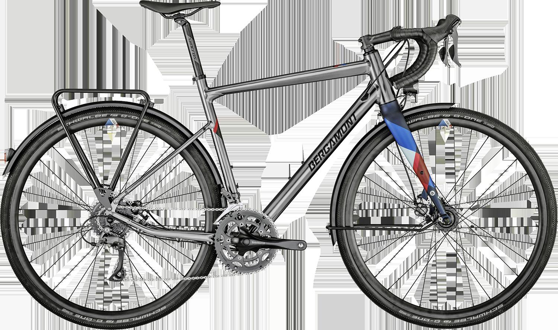 Bergamont Grandurance RD 3 2021 - Sølv