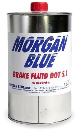 Morgan Blue Brake Fluid DOT 5.1 Bremsevæske - 1000ml