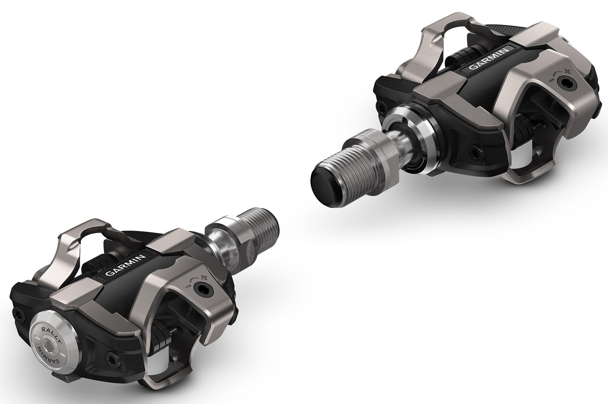 Garmin Rally XC100 Wattmåler Pedaler m. 1 sensor - Shimano SPD