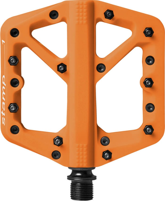 CrankBrothers Pedal Stamp 1 - Large - Orange