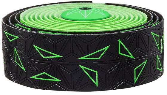Supacaz Styrbånd Sticky KUSH Star Fade - Grøn