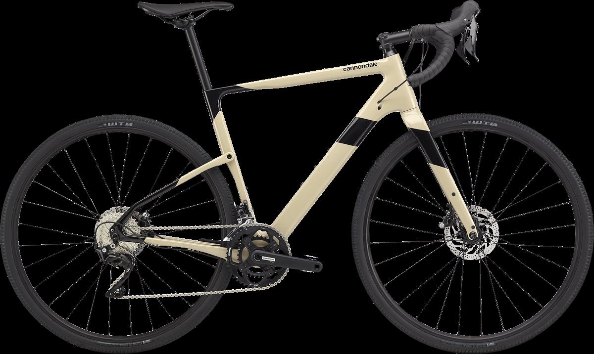 Cannondale Topstone Carbon 105 - hvid