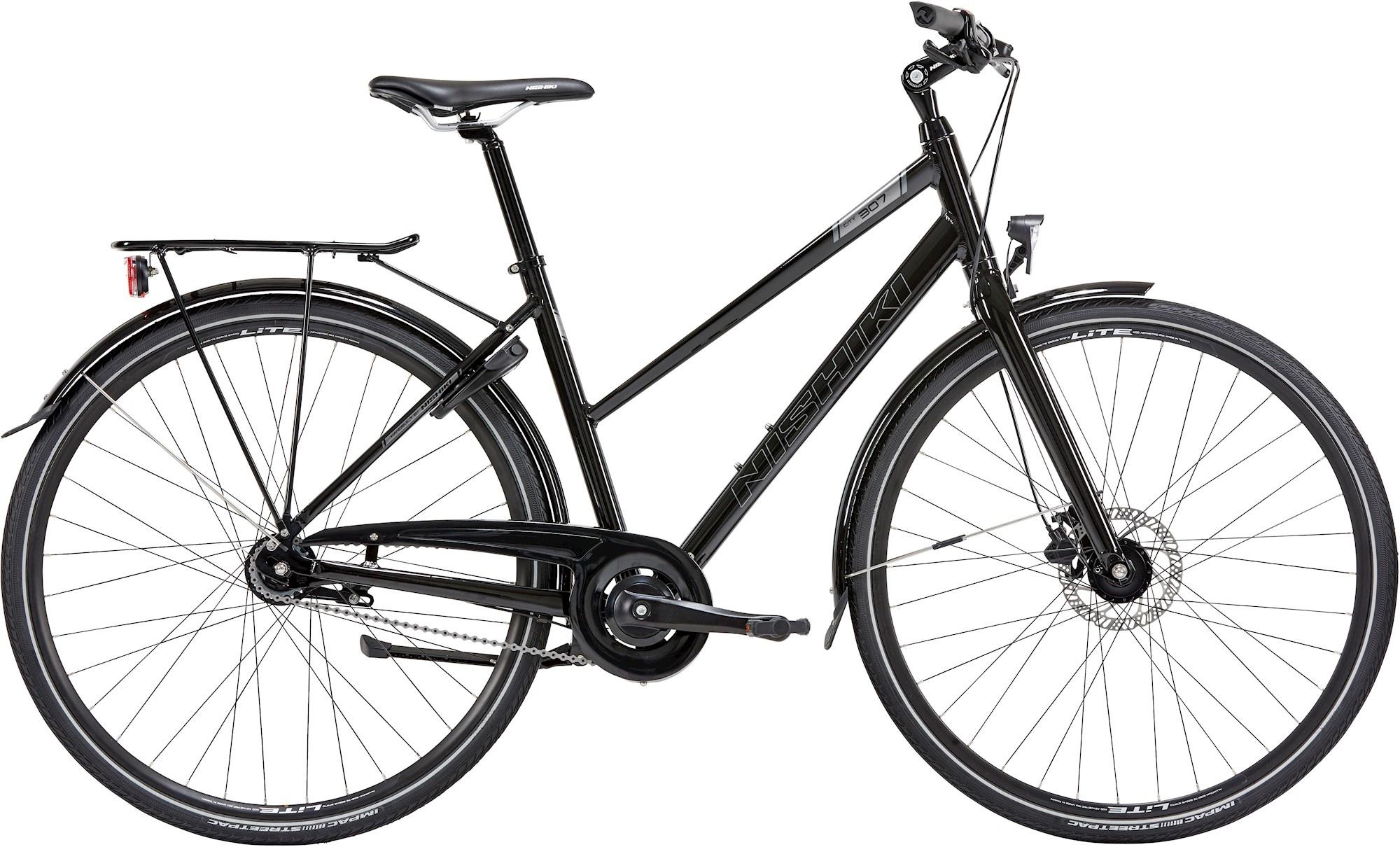 Nishiki City 307 Dame 7G 2021 - Sort Cykler > Damecykler